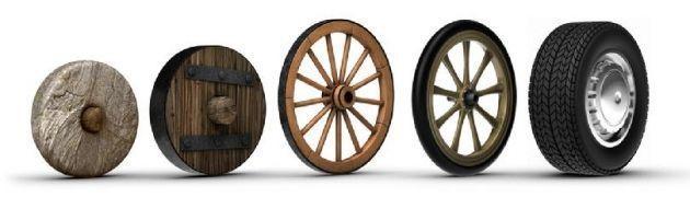 Resultado de imagen de primeras ruedas