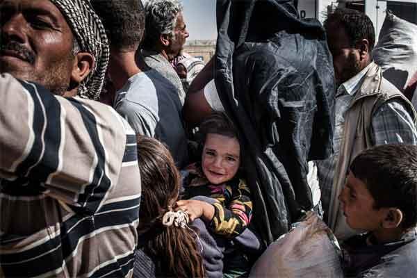 refugiados en siria