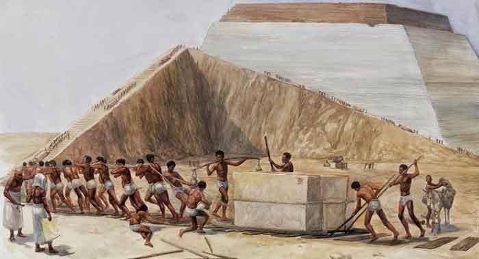 construccion piramides el misterio