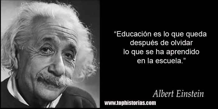 Las Frases Más Famosas De Albert Einstein Tophistorias