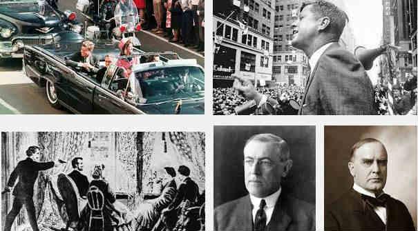 presidentes estados unidos asesinados violentamente