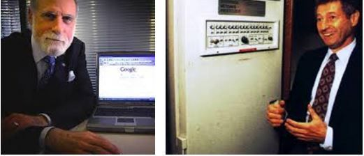 quien invento internet y en que año