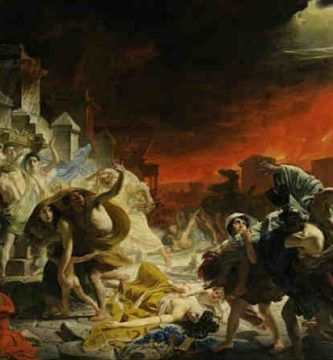 destrucción de pompeya
