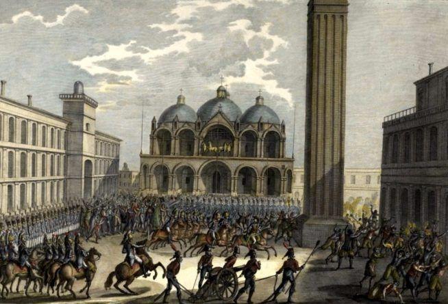 Napoleón en Venecia